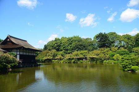 初秋の栖凰池