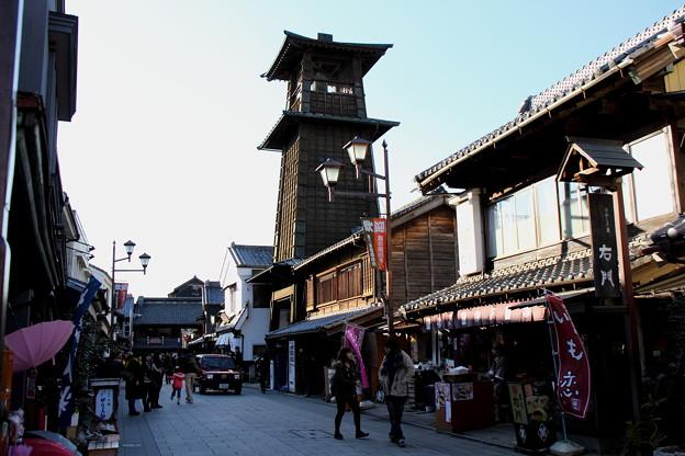 写真: 川越 時の鐘