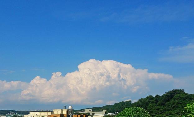 晩夏の巨雲