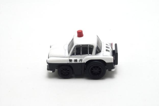 タカラトミー_ちびっこチョロQ No.43 トヨペット クラウン(RS)パトカー_003