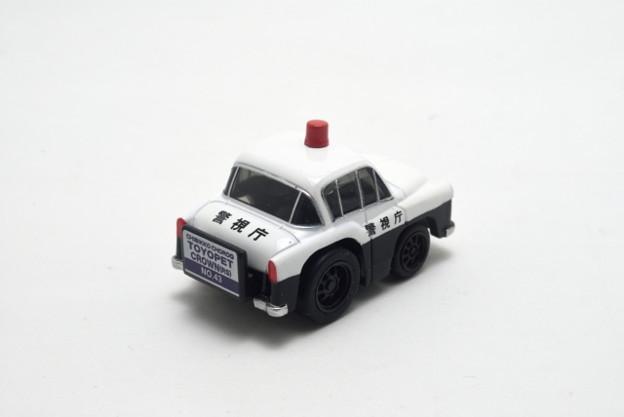 タカラトミー_ちびっこチョロQ No.43 トヨペット クラウン(RS)パトカー_002