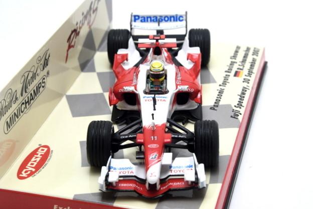 Minichamps _Panasonic Toyota Racing Showcar Fuji Speedway, 30 September 2007 Ralf SCHUMACHER_006
