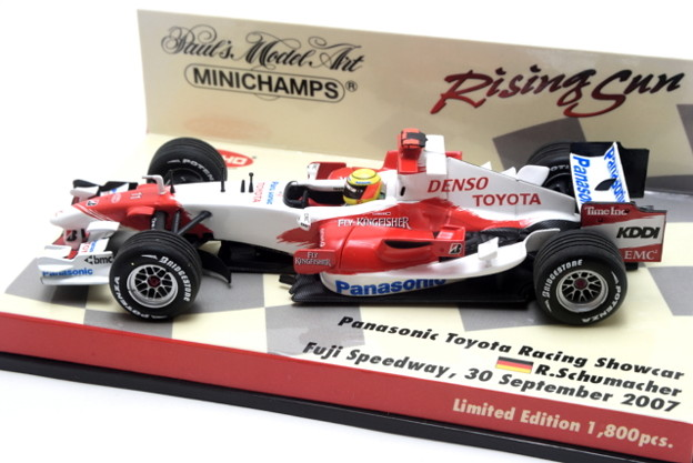 Minichamps _Panasonic Toyota Racing Showcar Fuji Speedway, 30 September 2007 Ralf SCHUMACHER_003