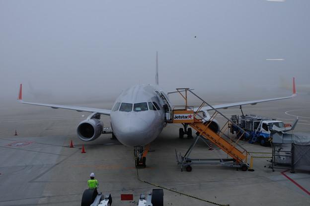 成田空港の朝