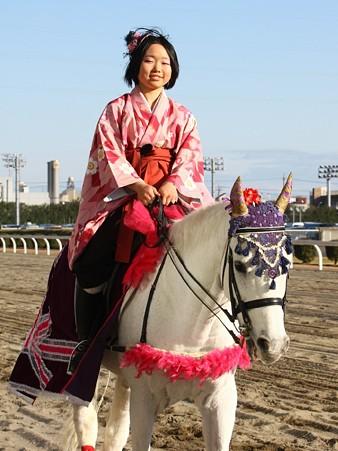 川崎競馬の誘導馬01月開催 和服2Ver-120103-10