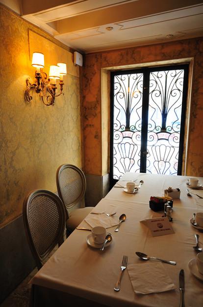ベネチアのレストラン(コンチネンタルホテル)