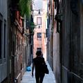 写真: ベネチアの径(こみち)