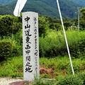 Photos: 中山道東西中間の地