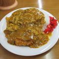 三井食堂のカツカレー…