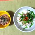 オイルサーディン丼&小蕎麦…