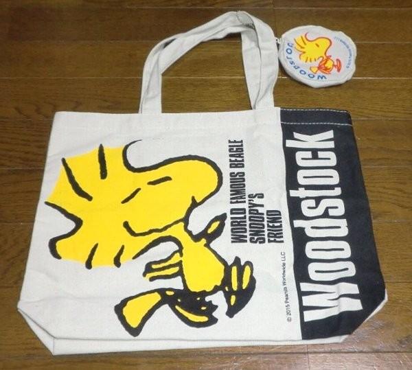 WOODSTOCK×SANRIO 復刻デザイントートバッグ&ポーチ