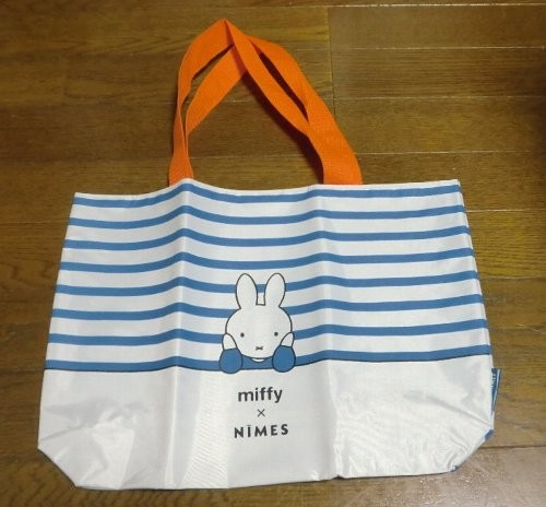 miffy×NIMES ボーダー柄ビッグトート