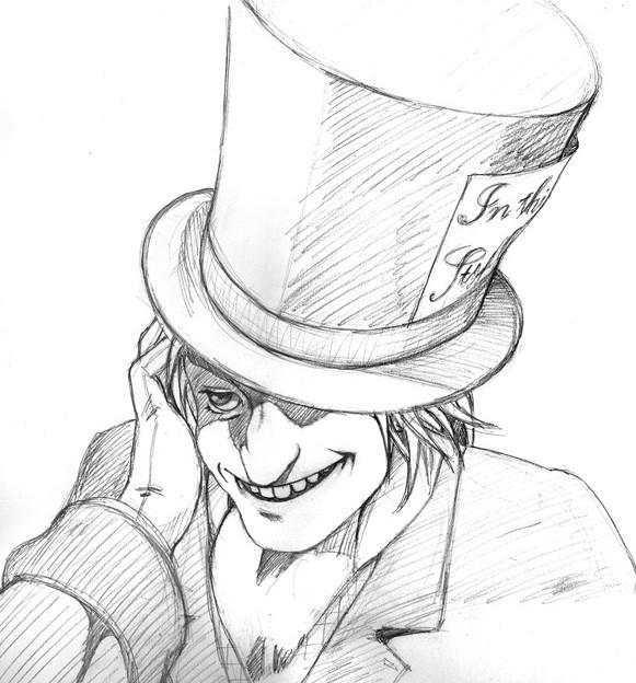 ALICE_帽子屋〔下描き〕