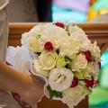 花嫁のウエディングブーケ