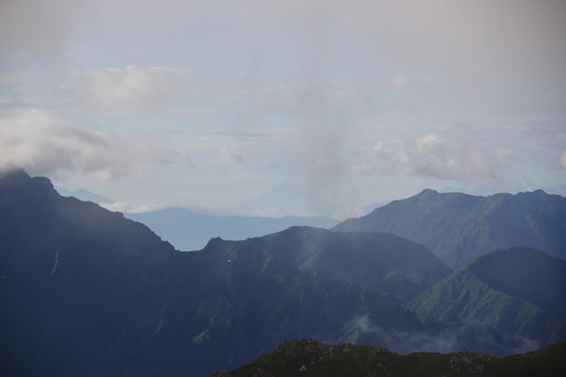立山から富士山見えたよ
