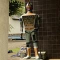 Photos: 謎のロボット