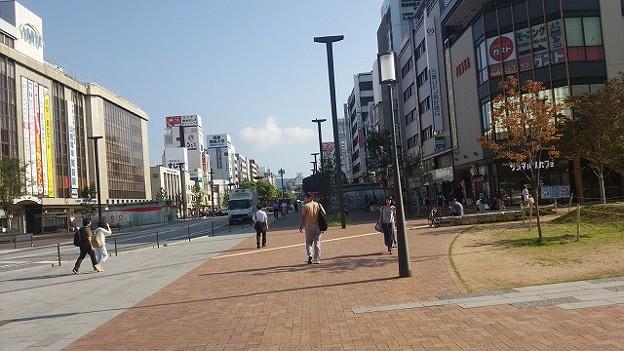JR姫路駅前からの眺め