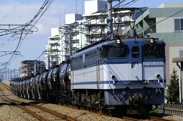 臨8286レ(通称:米タン):EF65 1095+タキ38000形13B