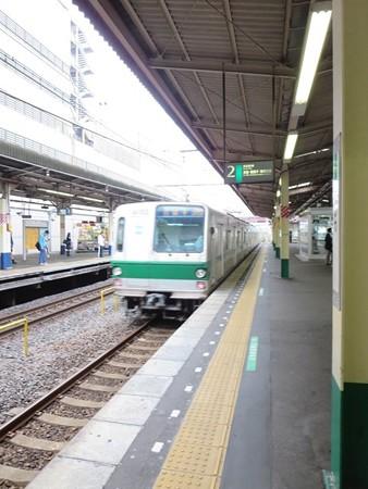 千代田線 安孫子に向けて去っていく@柏駅