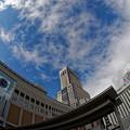 初夏の札幌駅