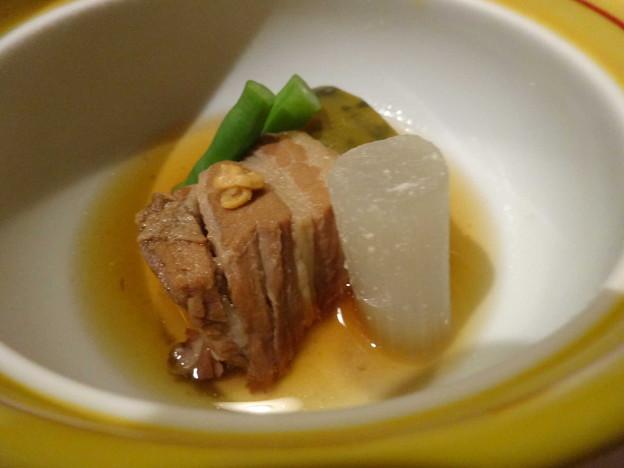 炊合せ豚角煮