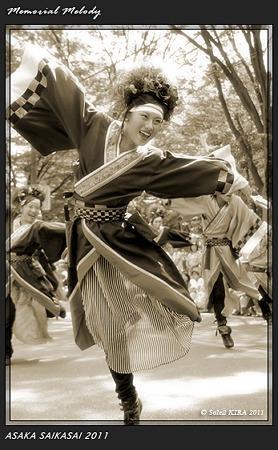 銀輪舞隊_22 - 「彩夏祭」 関八州よさこいフェスタ 2011