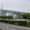 写真: 建設が進む、県営名古屋空港前の三菱の工場 - 1