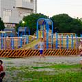 写真: 春日井市民納涼まつり 2015 No - 13:封鎖された遊具