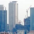 写真: 名古屋城天守閣:最上階から見た名駅ビル群 - 5
