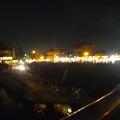 写真: 日本ライン夏まつり納涼花火大会 2015 No - 166:花火終了後、犬山橋の上から見た各務原側の有料席