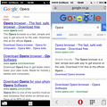 Photos: Opera Coast 4.40 & Mini 10.2:Google Search Result - 1