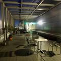 写真: 夜のエアポートウォーク名古屋 展望デッキ
