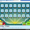 写真: Chromeアプリ:Angry Birds(ステージ選択画面)2