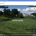 写真: Chromeアプリ:WGTゴルフチャレンジ(結果表示)