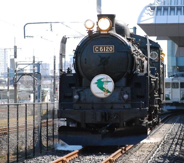 C6120 はやぶさ HM付き 鉄道博物館 試運転