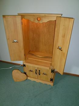 カントリー仏壇スライドテーブル2