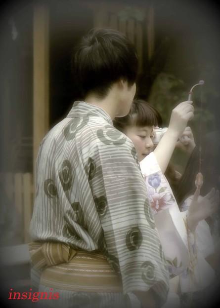 Photos: 平成ユカタCouple.......