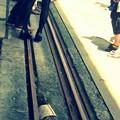 On the railway.......
