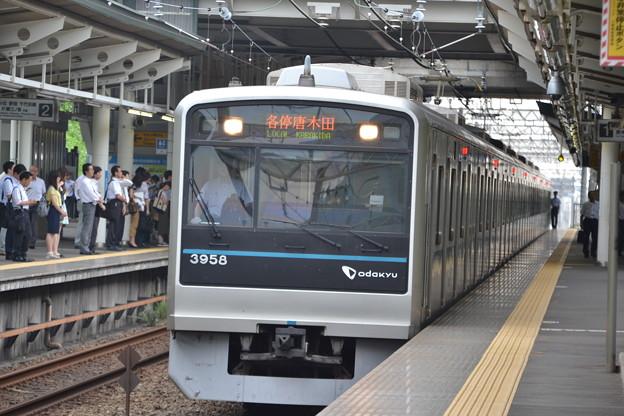 小田急3000形 3658F [小田急電鉄 栗平駅]