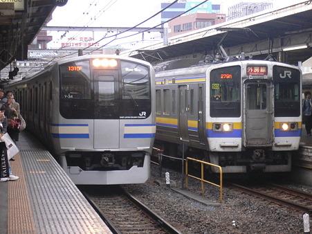 [過去分]E217系×211系[2009.11.1]