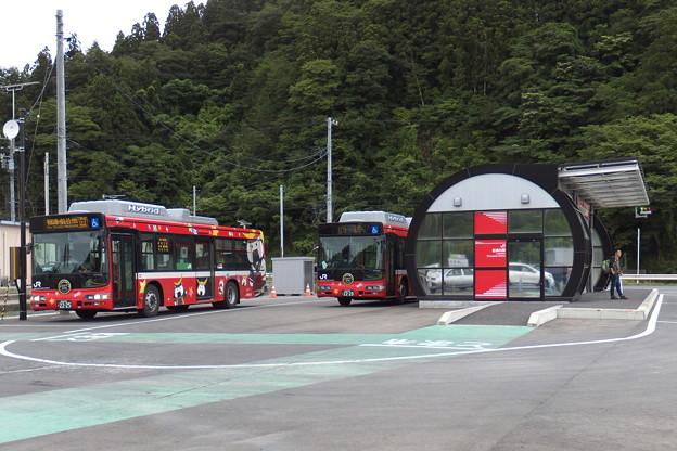 BRT志津川駅。