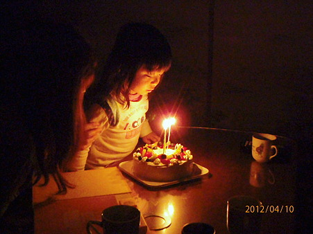 3歳の誕生日~