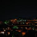 世界遺産の夜景