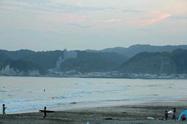 夕暮れサーフィン (1)