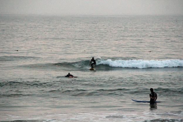 夕暮れサーフィン (6)