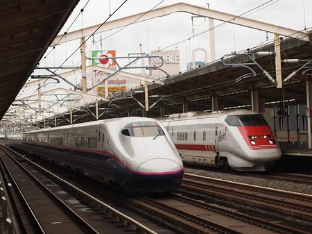 E2系やまびこ East-i 東北新幹線小山駅