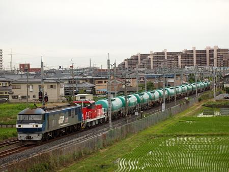 EF210貨物 東北本線白岡~新白岡
