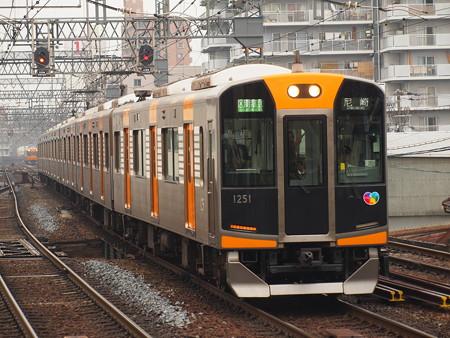阪神1000系区間準急 近鉄奈良線鶴橋駅