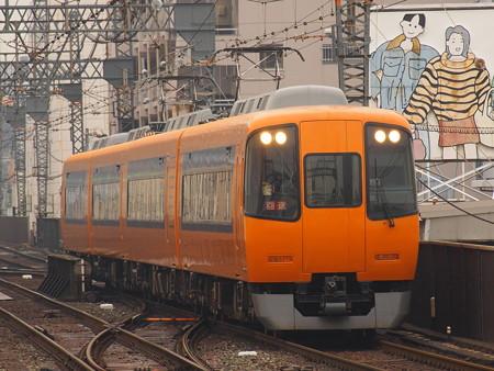 近鉄22000系回送 近鉄大阪線鶴橋駅