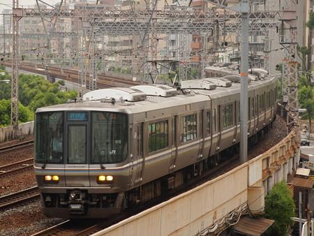 223系新快速  東海道本線神戸~元町01